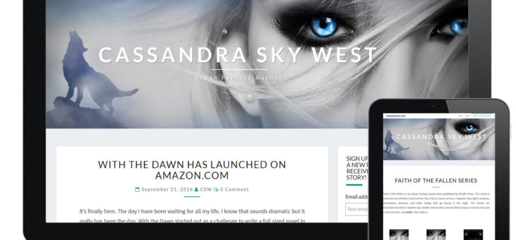 Cassandra Sky West Author Website