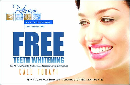 Free Dental Whitening Card