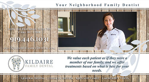 Kildaire Dental Marketing Flyer